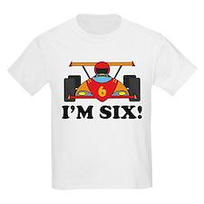 Racing Car 6th Birthday T-Shirt