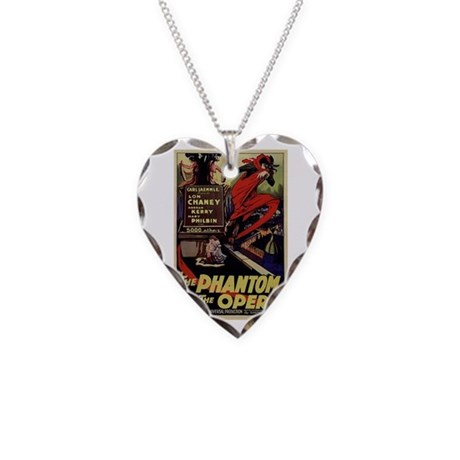 Original Phantom Necklace Heart Charm
