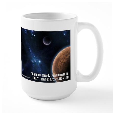 Inspirational Insights coffee mug (Joan of Arc)