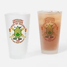 Artillery - Howitzer - Chief Drinking Glass