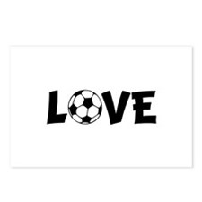 Love Soccer Postcards (Package of 8)