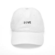 Love Soccer Baseball Cap