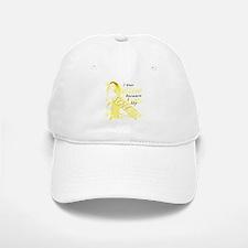 I Wear Yellow Because I Love Baseball Baseball Cap