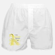 I Wear Yellow Because I Love Boxer Shorts