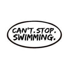 Can't Stop Swimming Patches