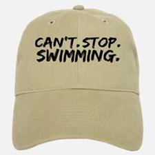 Can't Stop Swimming Baseball Baseball Cap