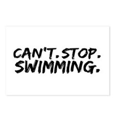 Can't Stop Swimming Postcards (Package of 8)