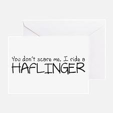 Haflinger Greeting Card