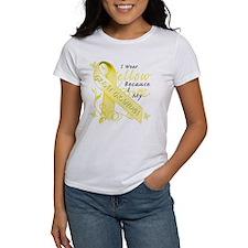 I Wear Yellow Because I Love Tee