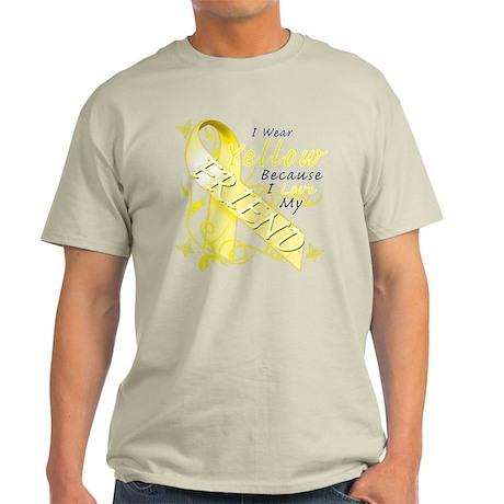 I Wear Yellow Because I Love Light T-Shirt
