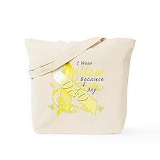 I Wear Yellow Because I Love Tote Bag