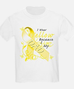 I Wear Yellow Because I Love T-Shirt