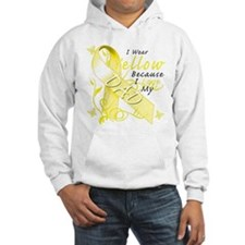 I Wear Yellow Because I Love Hoodie