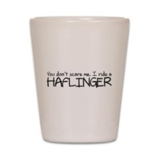 Haflinger Shot Glass