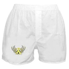 Awareness Tribal Yellow Boxer Shorts
