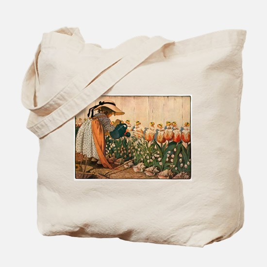 Mary Mary Quite Contrary Tote Bag