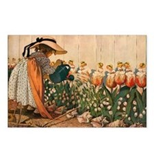 Mary Mary Quite Contrary Postcards (Package of 8)