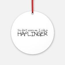 Haflinger Ornament (Round)