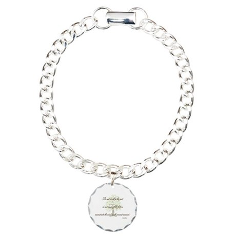 Buddha- Present Moment Charm Bracelet, One Charm
