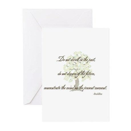 Buddha- Present Moment Greeting Cards (Pk of 20)