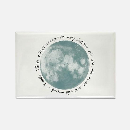 Buddha-Moon Rectangle Magnet