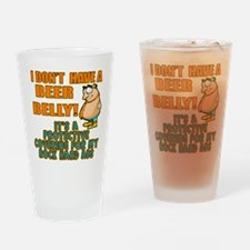 My Beer Belly Drinking Glass