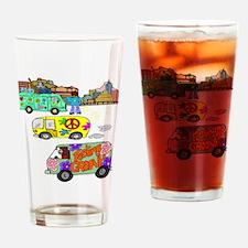 Feeling Groovy Drinking Glass