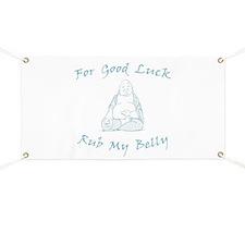 Good Luck Buddha Banner