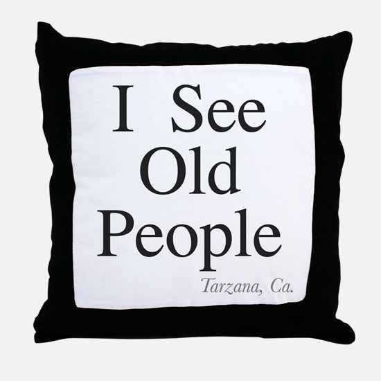 Unique Aging Throw Pillow
