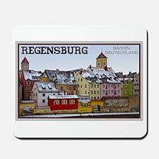 Regensburg Waterfront Mousepad