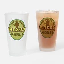 Stone Mason Drinking Glass