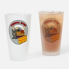 Retirement Funeral Home Drinking Glass