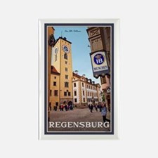 Regensburg Old Rathaus Rectangle Magnet