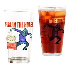 50th Birthday Drinking Glass