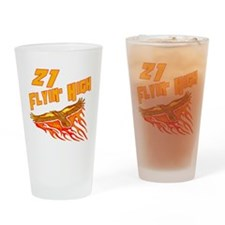 21st Birthday Drinking Glass