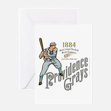 Providence Grays Greeting Card
