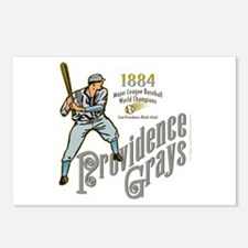 Providence Grays Postcards (Package of 8)