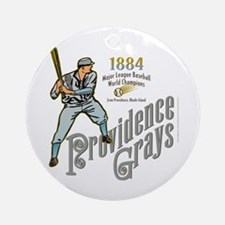 Providence Grays Ornament (Round)