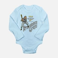 Providence Grays Long Sleeve Infant Bodysuit
