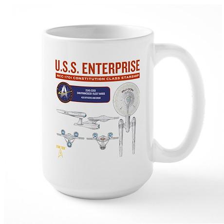 Starship Enterprise Large Mug