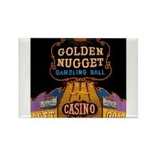 Golden Nugget Casino Rectangle Magnet