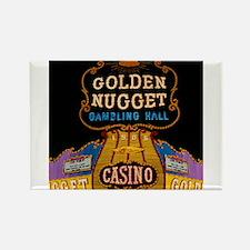 Golden Nugget Casino Rectangle Magnet