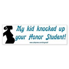 """My Kid"" Bumper Bumper Sticker"