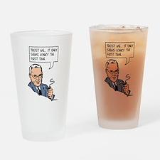 Kinky Drinking Glass