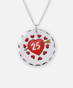 25th Valentine Necklace