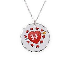 34th Valentine Necklace