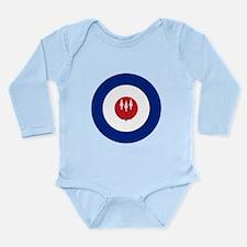 Rhodesia and Nyasaland Long Sleeve Infant Bodysuit