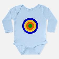 South Africa 1920 Roundel Long Sleeve Infant Bodys