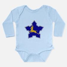 South Africa 1957 Roundel Long Sleeve Infant Bodys