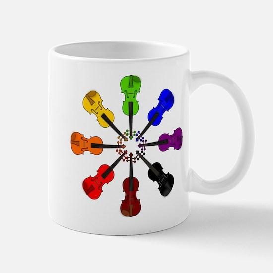 Circle of Violins Mug